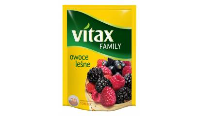 Herbata owocowa VITAX Family owoce leśne (24T)