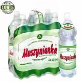Woda mineralna Muszynianka 1.5L wysokomineralizowana (6szt) (zielone etykiety)