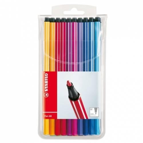 Flamastry STABILO Pen 68 kpl. 20 kolorów 6820 / PL