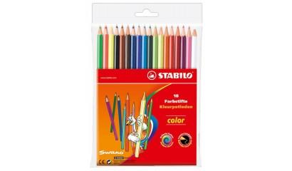 Kredki ołówkowe STABILO Color 18 kolorów 1218/77-02