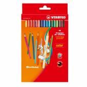 Kredki ołówkowe STABILO Color 18 kolorów 1918/77-01