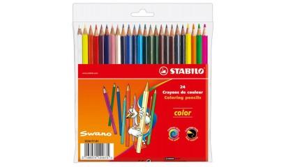 Kredki ołówkowe STABILO Color 24 kolory 1224/77-02