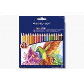 Kredki ołówkowe STAEDTLER Noris Club Triplus Slim 24 kolorów  127 NC24