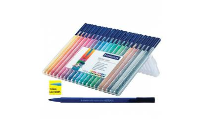 Flamastry STAEDTLER Triplus Color 323 zielony 323-5