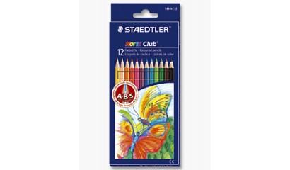 Kredki ołówkowe STAEDTLER Noris Club (12kol.) 144 NC12
