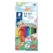 Kredki ołówkowe STAEDTLER Noris Club (12 kolorów) 144 NC12