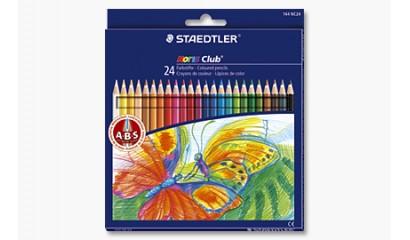 Kredki ołówkowe STAEDTLER Noris Club (24kol.) 144 NC24
