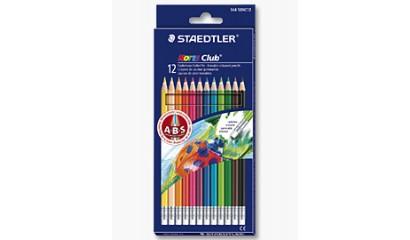 Kredki ołówkowe STAEDTLER Noris Club usuwalne (12kol.) 144 50NC12