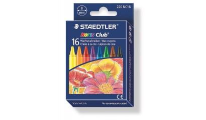 Kredki woskowe STAEDTLER Noris Club (16kol.) 220 NC16
