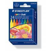 Kredki woskowe STAEDTLER Noris Club (24 kolory ) 220 NC24