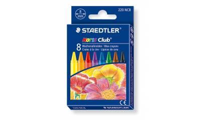 Kredki woskowe STAEDTLER Noris Club (8kol.) 220 NC8