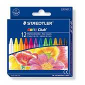 Kredki woskowe STAEDTLER Noris Club (12 kolorów) 220 NC12