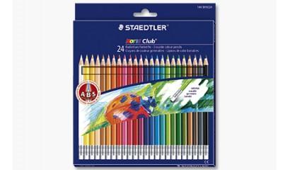 Kredki ołówkowe STAEDTLER Noris Club usuwalne (24kol.) 144 50NC24