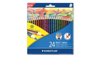 Kredki ołówkowe STAEDTLER Noris Colour Wopex 24kol. 185 C24