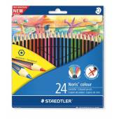 Kredki ołówkowe STAEDTLER Noris Colour Wopex 24 kolory  185 C24