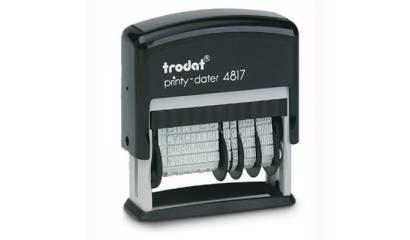 Datownik TRODAT 4817 ISO 12 haseł 3.8mm