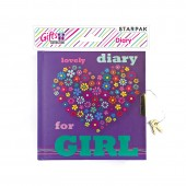 Pamiętnik zamykany STARPAK Girl 359907