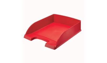 Tacka biurowa LEITZ Plus Standard czerwona 52272025