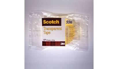 Taśma SCOTCH Transparent 550 19x33 w folii