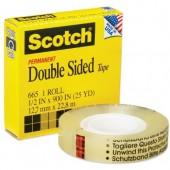 Taśma dwustronna SCOTCH 3M w pudełku 19x33 665