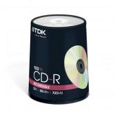 Płyta CD-R TDK 700MB cake (100szt)