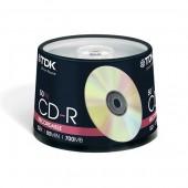 Płyta CD-R TDK 700MB  cake (50szt)