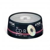 Płyta CD-R TDK 700MB cake (25szt)