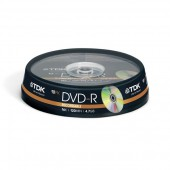 Płyta DVD-R TDK 4,7GB cake (10szt)