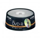 Płyta DVD-R TDK 4,7GB cake (25szt)