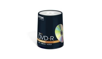 Płyta DVD-R TDK 4,7GB cake (100szt)