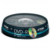 Płyta DVD+R TDK 4,7GB cake (10szt)