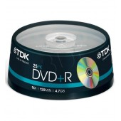 Płyta DVD+R TDK 4,7GB cake (25szt)