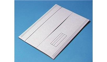 Teczka kartonowa KIEL-TECH biała z gumka (1szt)