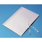 Teczka kartonowa KIEL-TECH biała wiązana (1szt)
