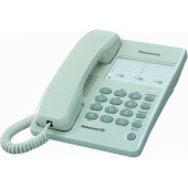 Telefon przewodowy PANASONIC KX-TS2300PDW biały