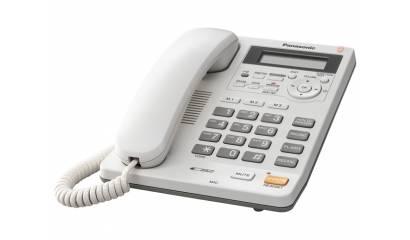 Telefon przewodowy PANASONIC KX-TS620PDW biały