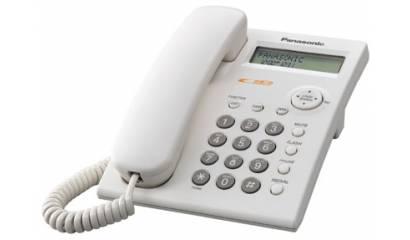 Telefon przewodowy PANASONIC KX-TSC11PBW biały