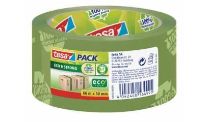 Taśma pakowa TESA ECO&STRONG zielona 50mm/66m
