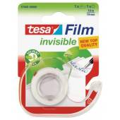 Taśma TESA tesafilm® invisible 19mm x 10m + dyspenser 57660