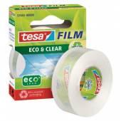 Taśma TESA tesafilm® eco&clear 19mm x 33m 57043