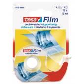 Taśma dwustronna TESA tesafilm® 12mm x 7.5m + dyspenser 57912
