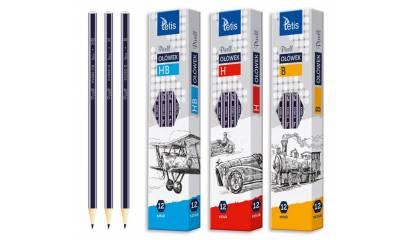 Ołówek TETIS PIXELL B KV060-B