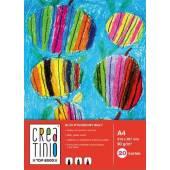 Blok rysunkowy TOP-2000 Creatinio A4 / 20 kartek 90g biały
