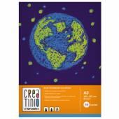 Blok rysunkowy TOP-2000 Creatinio A3 / 10 kartek 80g kolorowy
