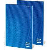 Blok biurowy TOP 2000 Color 2.0 A5/50k, kratka, 70g, szyty, mikroperforacja, bez p. okładki 400146155