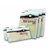 Karton wiz.TOP STYLE Linear Ivory A4 250g (20ark)