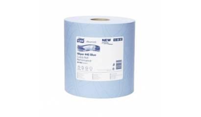 Czyściwo w roli TORK Advanced Wipper 440 niebieskie 130081