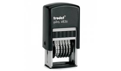 Numerator TRODAT Printy 4836 6/3,8mm