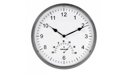 Zegar ścienny UNILUX Tempus z termometrem 30,5x2,5 U72317