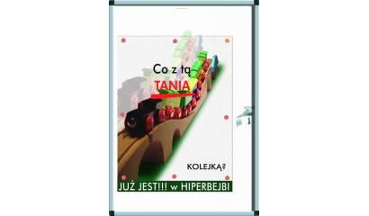 Gablota ekspozycyjna sucho-magnetyczna VITTORIA w ramie B1 60x90 2241